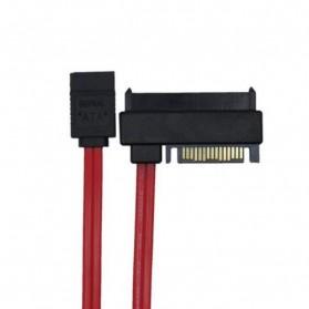 Chenyang SFF-8482 SAS 29 Pin to 7 Pin SATA HDD Raid Cable with 15 Pin SATA - 4