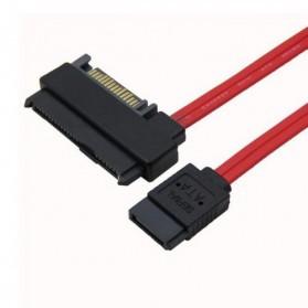 Chenyang SFF-8482 SAS 29 Pin to 7 Pin SATA HDD Raid Cable with 15 Pin SATA - 6