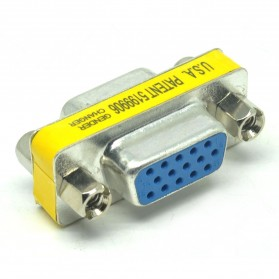 Adapter VGA 15 Pin Female Ke Female