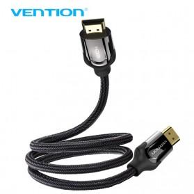 Vention Kabel HDMI ke HDMI 2.0 4K 60 FPS - 2M - Black