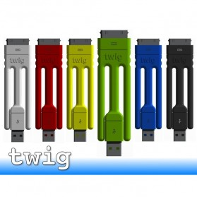 Twig Tripod Ultra Portable Cable for iPhone 4/4s - Yellow - 2