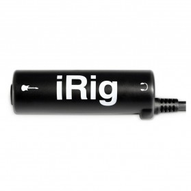 iRig AmpliTube Guitar Interface Adapter for iPhone /iPod Touch/iPad - Black - 4