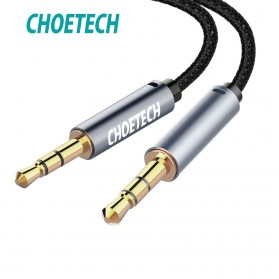 CHOETECH Kabel Audio AUX 3.5mm Male to Male 1.2 Meter - AUX002 - Black
