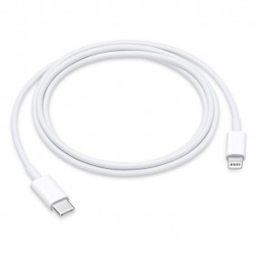 Apple Kabel Lightning Thunderbolt 3 USB Type C 1M (ORIGINAL) - White