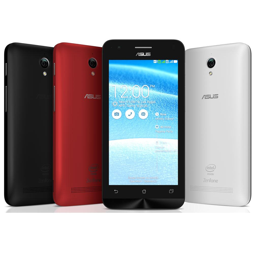 ASUS Zenfone 4C 4.5 Inch 8GB 2GB Ram - ZC451CG - Black - 2