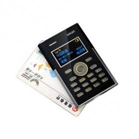 Smart S3 Credit Size Mobile Phone - Black - 3