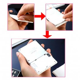 Smart S3 Credit Size Mobile Phone - Black - 5