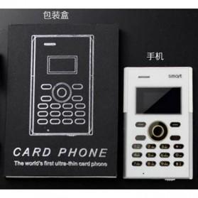 Smart S3 Credit Size Mobile Phone - Black - 9