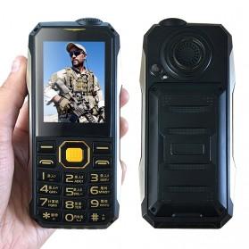 KUH T998 Handphone Multifungsi Power Bank - Black Gold - 3