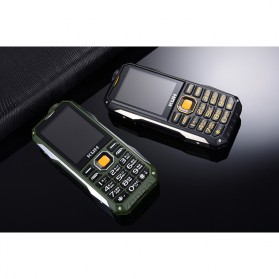 KUH T998 Handphone Multifungsi Power Bank - Black Gold - 5