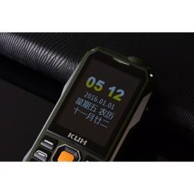 KUH T998 Handphone Multifungsi Power Bank - Black Gold - 6
