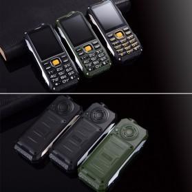 KUH T998 Handphone Multifungsi Power Bank - Black Gold - 9