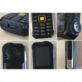 KUH T998 Handphone Multifungsi Power Bank - Black Gold - 10