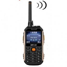 Handphone - Handphone Dual SIM Multifungsi Power Bank - Black