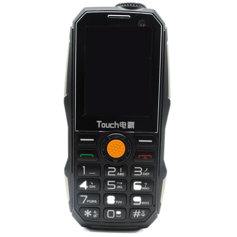 Touch Handphone Dual SIM Multifungsi Power Bank - Black ...