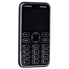 Handphone - EASTBLUE Credit Size Mobile Phone - Black