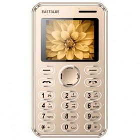 Handphone - EASTBLUE Credit Size Mobile Phone - Golden