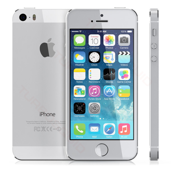 apple iphone 5s 32gb factory unlocked smartphone silver grade a ebay. Black Bedroom Furniture Sets. Home Design Ideas