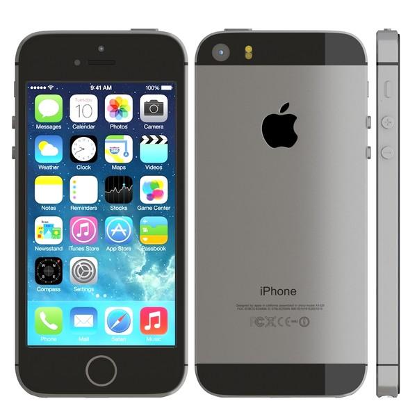 Apple iPhone 5s (MF358ZP A   MF359ZP A   A1530) - 64GB - Space Gray ... d91967c6e7