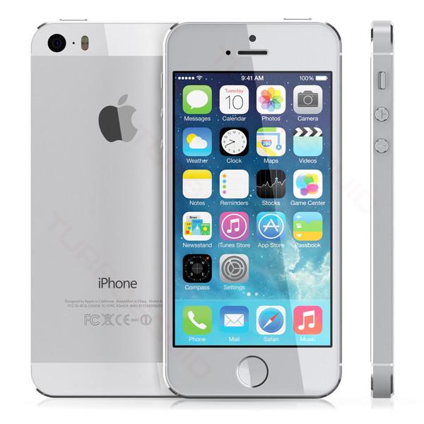 Apple iPhone 5s (MF358ZP A   MF359ZP A   A1530) - 64GB - Silver ... 9c42fcf02b