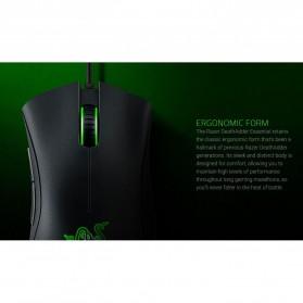 Razer Mouse Deathadder Essentials Mouse - RZ01-02540100-R3M1 - Black - 6