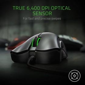 Razer Mouse Deathadder Essentials Mouse - RZ01-02540100-R3M1 - Black - 9