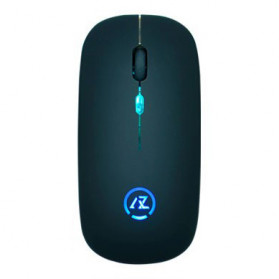 KAZU Wireless Optical Mouse Seven Color 2.4G - AZ811 - Black