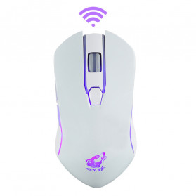 Carprie Mouse Gaming Wireless USB Rechargeable 2400 DPI - X9 - Black - 5