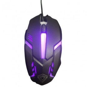 Jual Mouse Gaming - BerLincell Mouse Gaming LED RGB 1200 DPI - M20 - Black