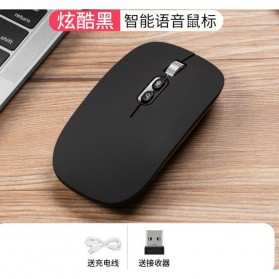Smart AI Mouse Wireless with Translation Voice Function - M103 - Black