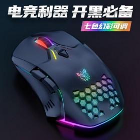Onikuma Gaming Mouse RGB 6400 DPI Sensor With 7 Key - CW902 - Black - 2