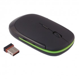 Wireless Mouse / Bluetooth Mouse - AUE Wireless Optical Mouse 2.4G - M012 - Black