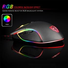 MOTOSPEED Optical Gaming Mouse Macro with RGB Backlight - V30 - Black - 2
