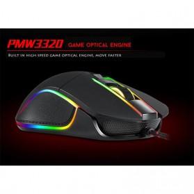 MOTOSPEED Optical Gaming Mouse Macro with RGB Backlight - V30 - Black - 7