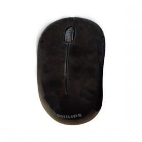 Philips Mouse Wireless Optical 1600 DPI - SPK7374 - Black