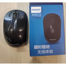 Philips Mouse Wireless Optical 1600 DPI - SPK7374 - Black - 2