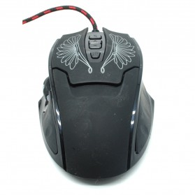 AUW Optical Mouse Gaming Wire - X3 - Black