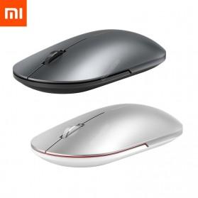 Xiaomi Fashion Mouse Portable Wireless Game Mouse 1000dpi 2.4GHz dan Bluetooth - XMWS001TM - Black - 2