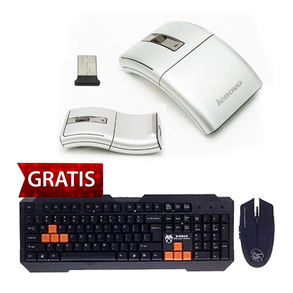 Lenovo Wireless Laser Mouse N70 Gratis Kinbas Ps 2 Wired 104 Key Gaming 24ghz Optical Keyboard