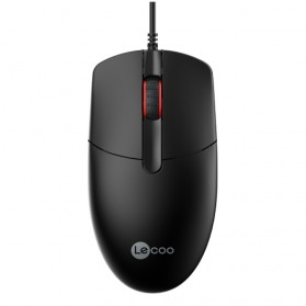Lenovo Lecoo Mouse Wired Optical - MS103 - Black