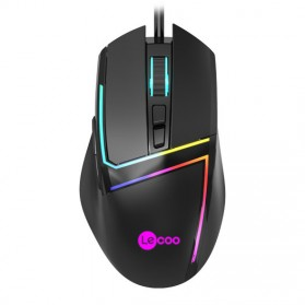 Lenovo Lecoo Mouse Wired Optical - MS106 - Black