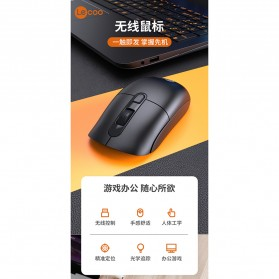 Lenovo Lecoo Mouse Wireless Optical - M2001 - Black - 5