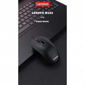 Lenovo Mouse Wired Optical - M102 - Black - 5