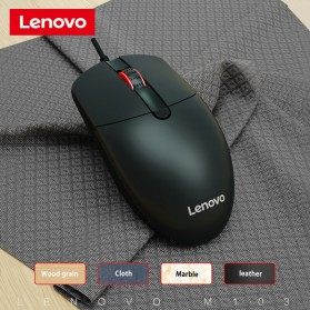 Lenovo Mouse Wired Optical - M103 - Black - 5