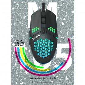 Lenovo Gaming Mouse 3200 DPI - M105 - Black - 6