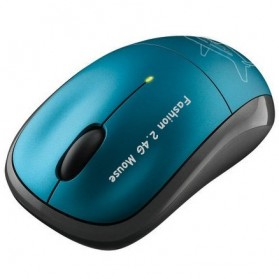 Kinbas 2.4GHz Wireless Optical Mouse 2400DPI - GT-X5 - Blue