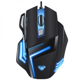 Aula Ghost Shark Kisame Gaming Mouse 2000 DPI - Black