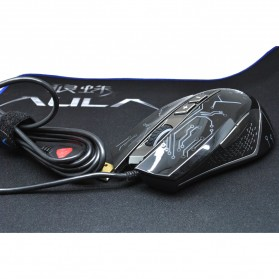 Aula Tianji Gaming Mouse 5000 DPI with Mouse Pad - Black - 6