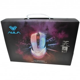 Aula Tianji Gaming Mouse 5000 DPI with Mouse Pad - Black - 13