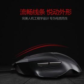 Remax Gaming Mouse 5000 DPI - XII-V3501 - Black - 2